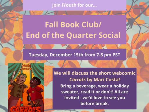 End of Fall Quarter Book Club and Social