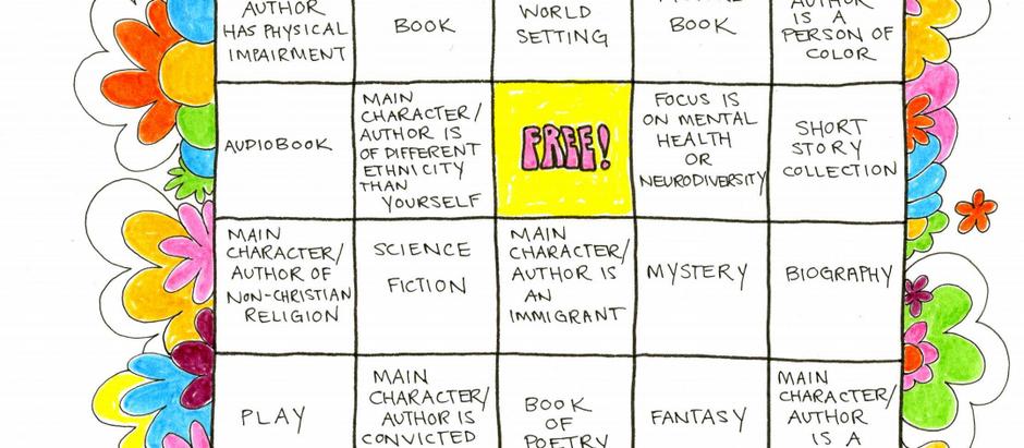 Summer Reading Challenge Bingo Card!