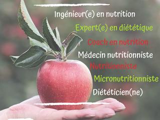 Diplôme en diététique, nutrition, nutrition du sport, coach en nutrition?