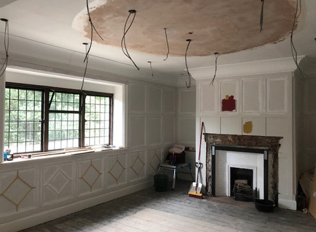 Jacobean Style Dining Room