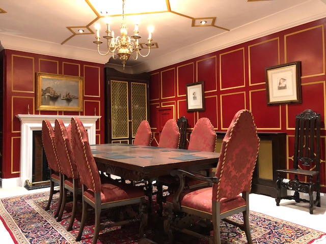 Jacobean Dining Room