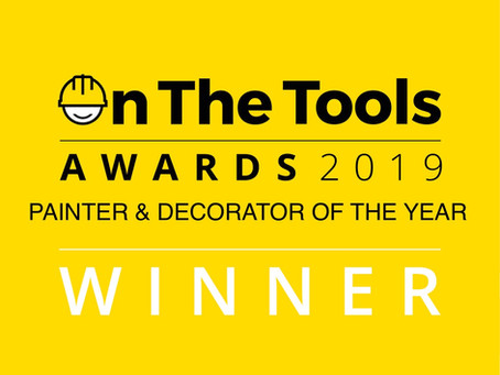 On The Tools Painter & Decorator of the Year 2019