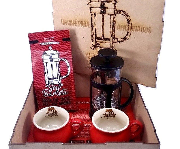 Regalo Corporativo Kit experiencia Soy Barista