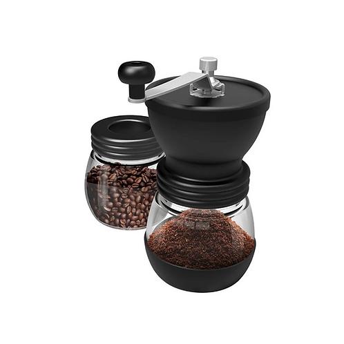 Molino de café manual en cerámica y vidrio