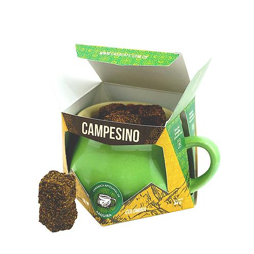 Café campesino x 12 cubos + pocillo