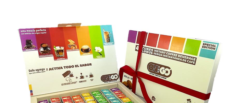 CASACAFÉ On The Go Gift Set x 48 cubos café instantáneo en 6 sabores