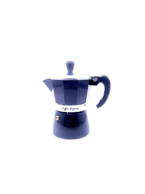Cafetera Moka en acero inox para 3 tazas