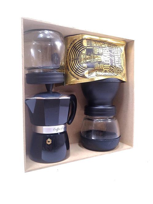 Kit experiencia de café Moka+ molino 1