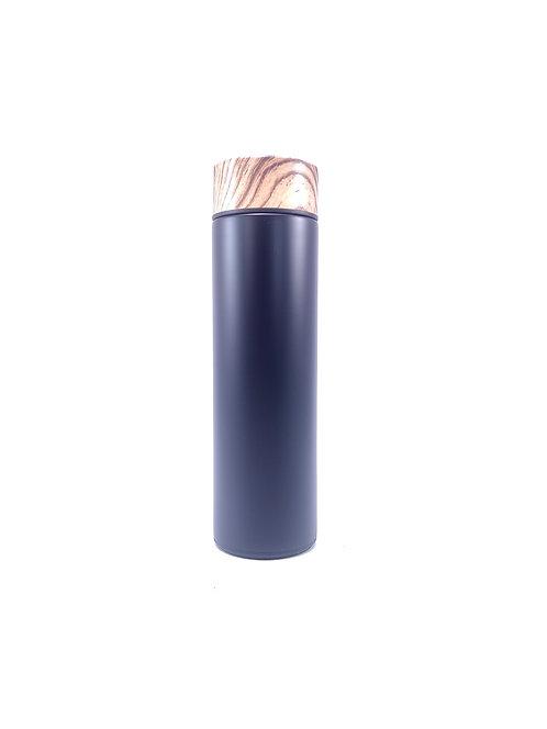 Termo vacuum flask metálico color negro