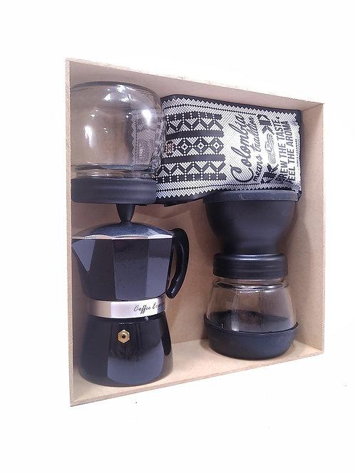 Kit experiencia de café Moka+ molino2