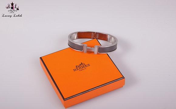 Hermes Mens Clic HH bracelet
