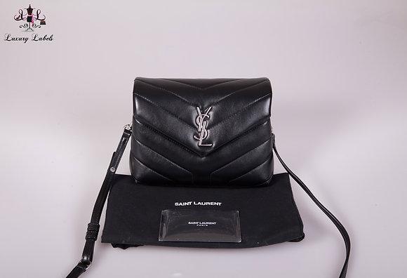 Saint Laurent Loulou Toy YSL Matelasse Calfskin Envelope Crossbody Bag