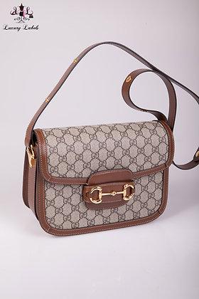 Gucci GG Supreme Horsebit 1955 shoulder bag (New)
