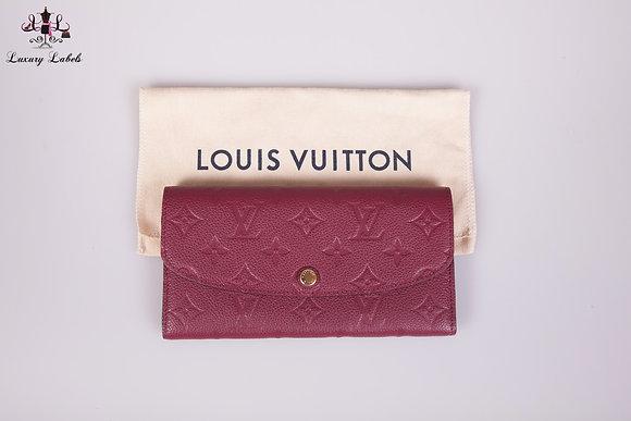 Louis Vuitton Empreinte Leather Emilie Wallet