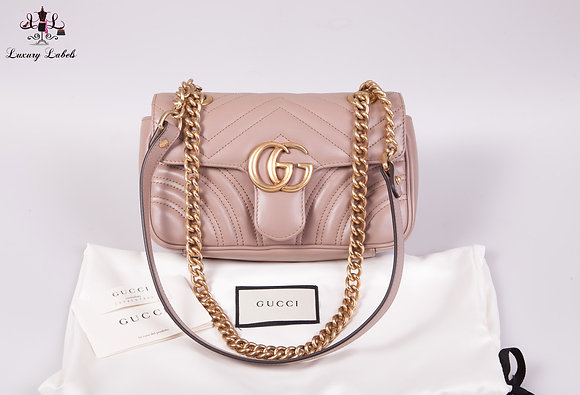 Gucci GG Marmont matelassé mini shoulder/crossbody bag