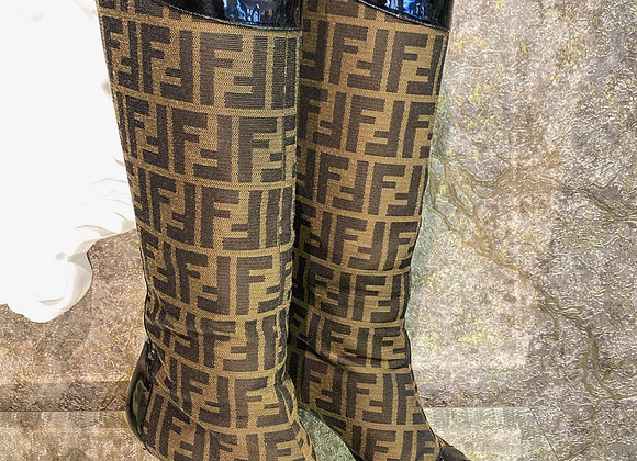 Fendi Tall Boots sz 40 (fit like US9)
