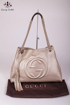 Gucci Medium Soho Leather Hobo