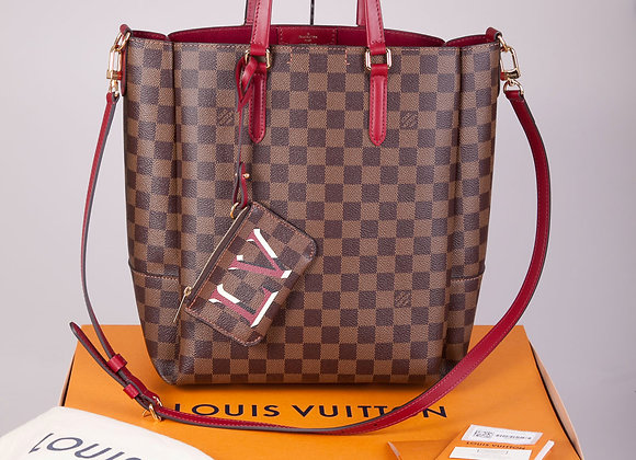 Louis Vuitton Belmont MM in Cherry Berry