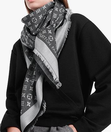 Louis Vuitton Black Denim Shawl (brand new)