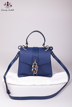 Chloe Small Aby Day shoulder/crossbody bag in Captive Blue