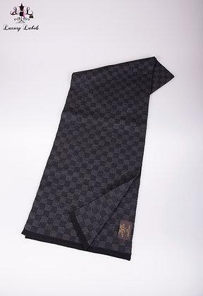 Louis Vuitton Mens Damier Graphite Scarf
