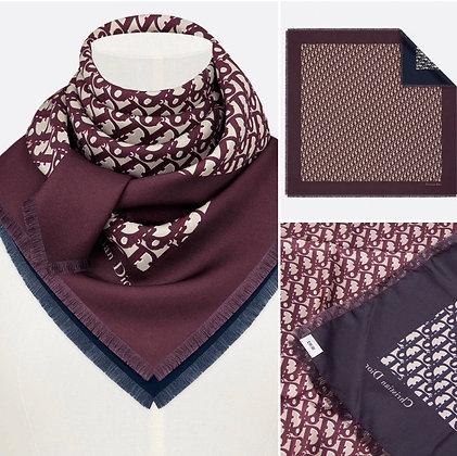 Dior Diortwin square scarf (brand new)