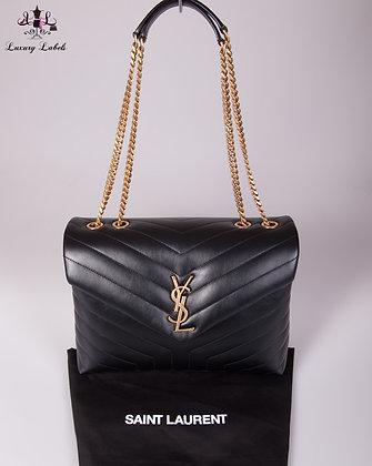 Saint Laurent Medium Loulou Matelassé Leather Shoulder Bag (Brand New)