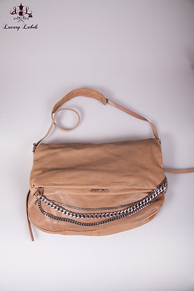 Jimmy Choo Biker Chain Leather Handbag