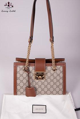 Gucci Padlock small GG shoulder bag (new)