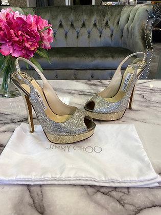 Jimmy Choo Shoes sz 37.5 (fit like US 7.5)