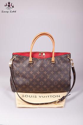 Louis Vuitton Monogram Pallas Red