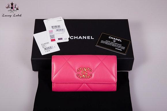 Chanel 2020 19 Flap Wallet