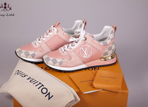 Louis Vuitton Run Away Sneakers  size 38 (Brand New in a box)