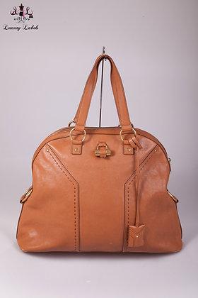 YSL Large Calfskin Muse Bag