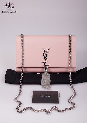 NEW Saint Laurent KATE MEDIUM WITH TASSEL IN SMOOTH LEATHER