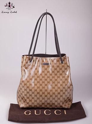 Gucci Coated Canvas Shoulder Bag