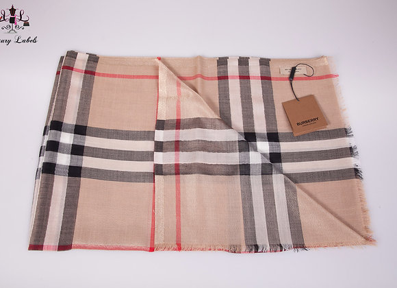 Burberry Shimmer Scarf (Brand New w/tags)