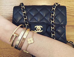 Chanel-Mini-Classic-Flap-Bag-and-Cartier