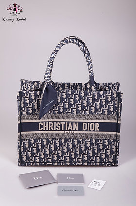 Dior Small Oblique Tote