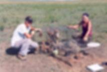 Donelle Schwalm prairie dog capture