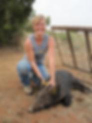 Doni Schwalm feral hog
