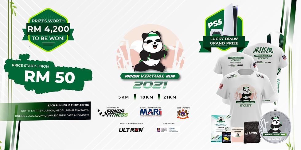 Panda Virtual Run 2021 - Extended
