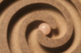 QD Spirals in Motion, labyrinths, wholesale gifts, designer maze furniture