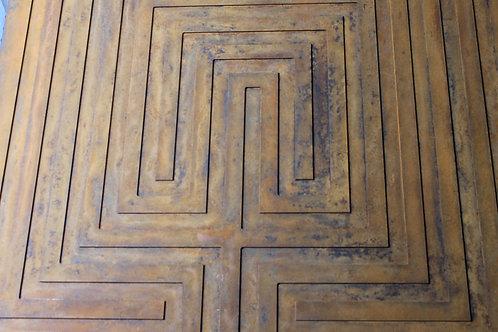 QD Wall Labyrinth - Patina Finish