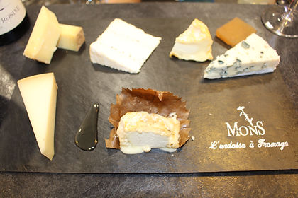 Mons - assiette fromages