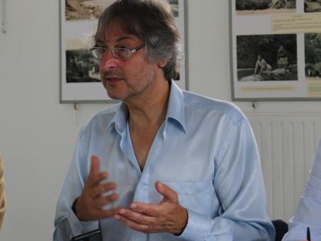 Paull Khan speaks on Beach Racing initiative at European Parliament