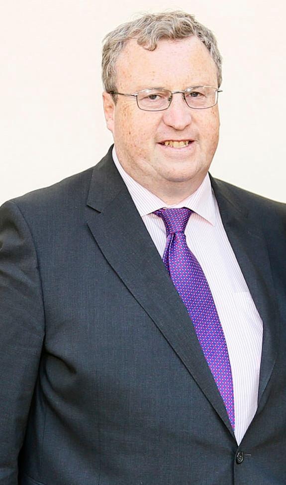 New Curragh chief Brian Kavanagh