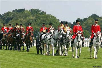 A favourite tradition is the royal procession