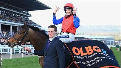 Quevega, 6 times a winner of the Mares Hurdle