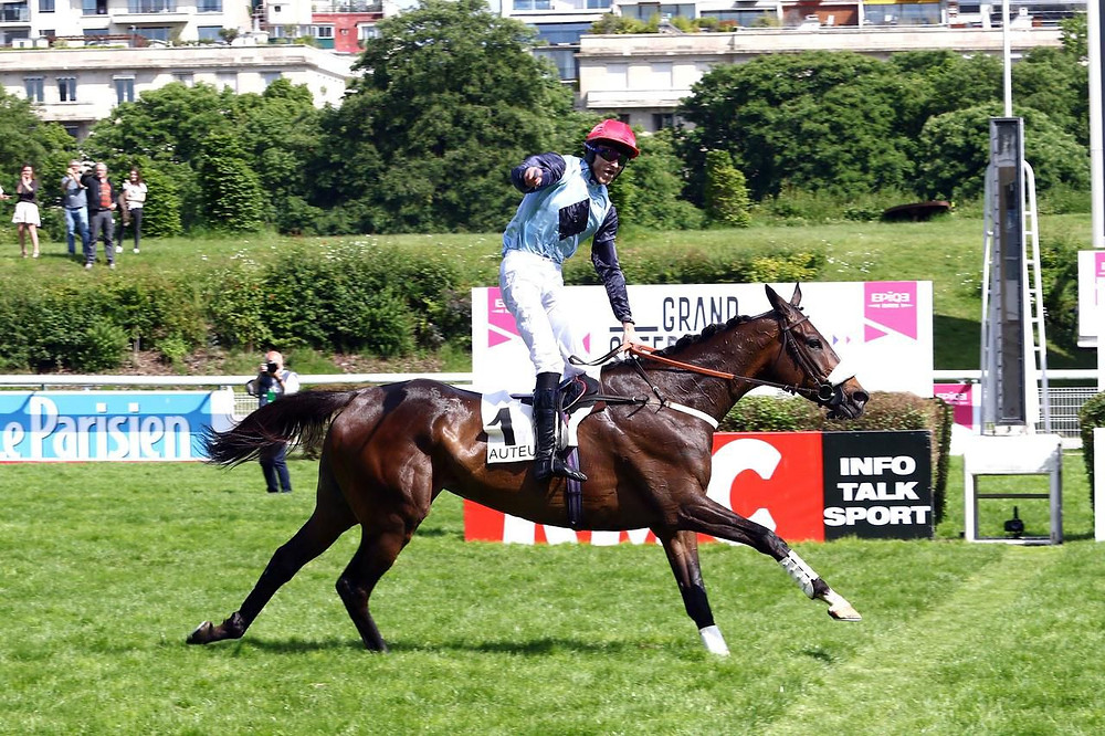 James Reveley wins at Auteuil